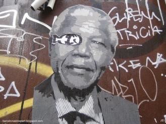 Nelson Mandela pirata (Paralelo2014)