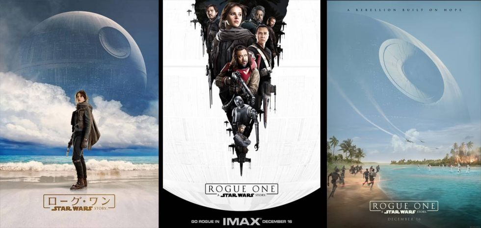 Carteles oficiales de Rogue One, japon, imax