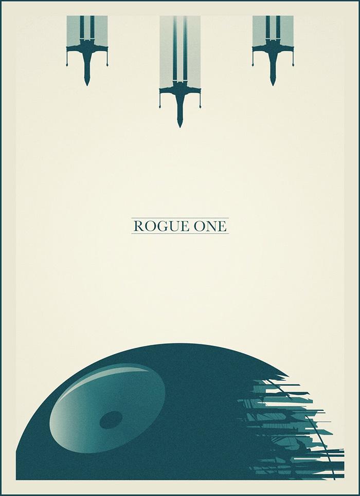 Rogue One. Creado por Lazare Gvimradze.